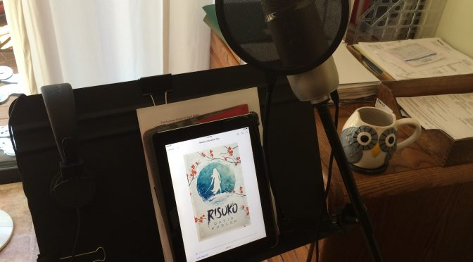 That's a wrap! Audiobook recording complete
